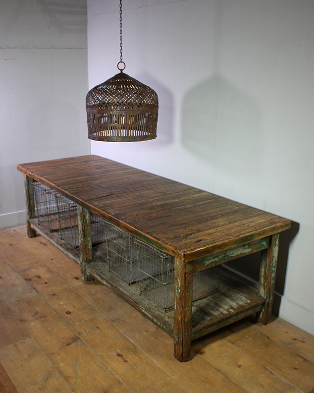 Industrial 3Metre Wooden Table