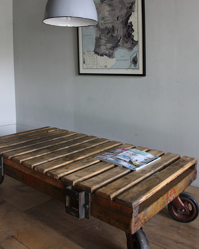 Industrial Trolley Table