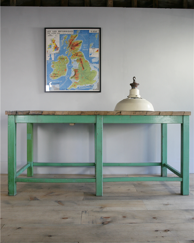 high green table
