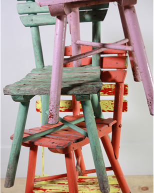 lkids coloured chairs