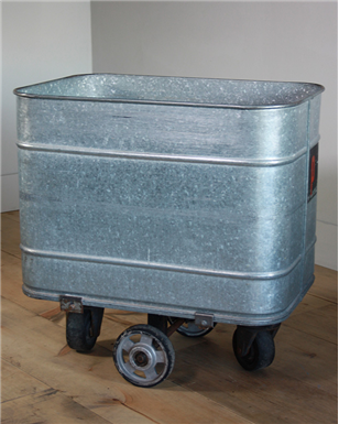 Galvanised Wheeled Carts