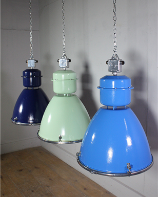 Coloured Czech Industrial Lights x