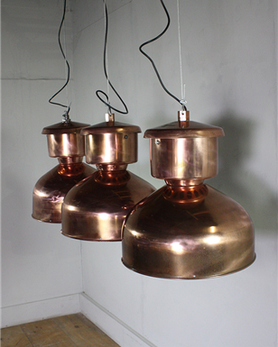Copper Industrial Pendants