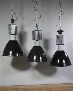 Large Czech Factory Lights