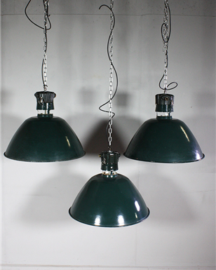 French Green Pendant lights