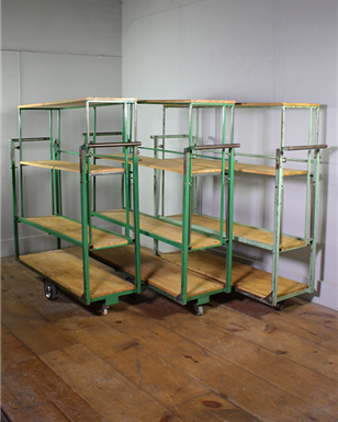 Industrial Shelving Trolleys