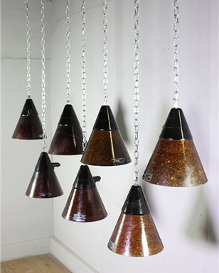 Bakelite Industrial Lights