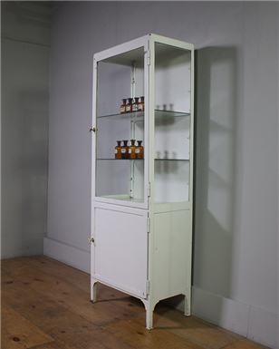 Single White Medical Cabinet