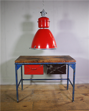 Red Drawer Workbench / Table