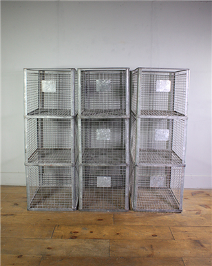 Large Metal Crates