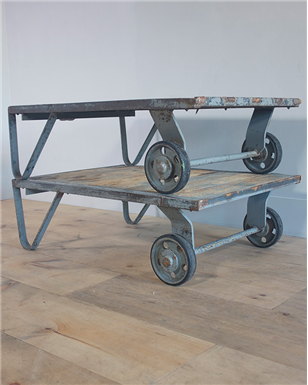 grey trolley Table