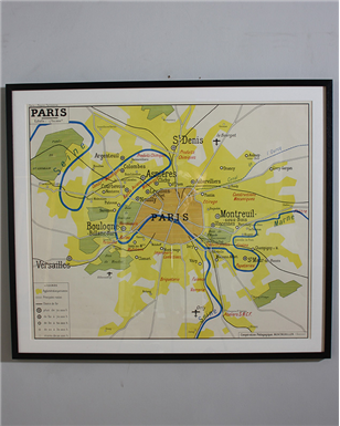 paris x map
