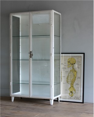 White Medical Cabinet