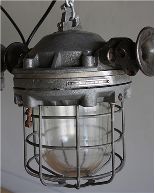 Czech Industrial Hanging lights