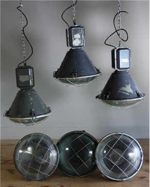 Industrial Factory Pendants