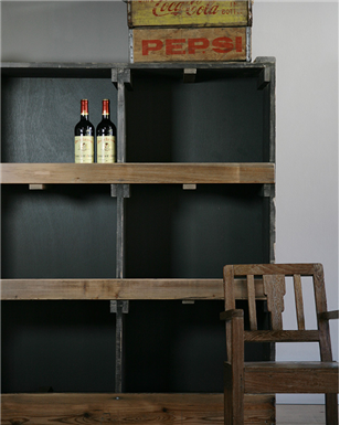 Industrial Shelving Unit x