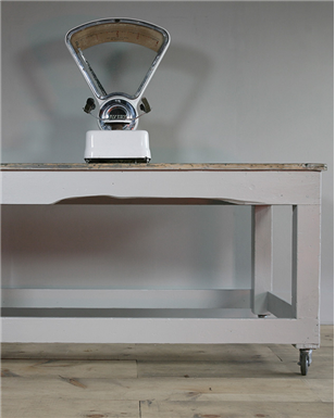 farmhouse Kitchen Table on Castors