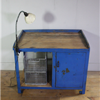 Blue Industrial Cabinet