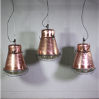 Copper Plated Industrial Lights