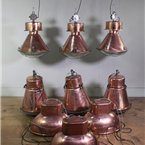 Copper Plated Industrial Pendants