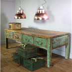 Green Worktable