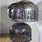 Reproduction Indian Caged Lights