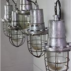 Russian Metal Caged Lights