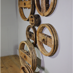 Wooden Press Display