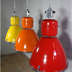 Coloured Czech Industrial Lights