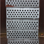Metal Holed Crates