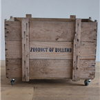 holland box on castors.