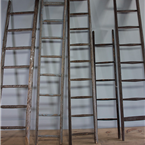 Vintage Wooden Fruit Ladders