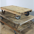 Wooden Trolley Table