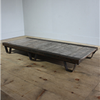 Industrial Low Pallet Table