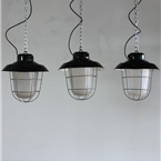 Czech Industrial Caged Lights