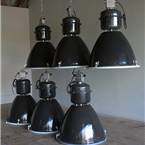 Czech Industrial Factory Lights