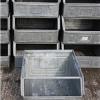 large industrial bins