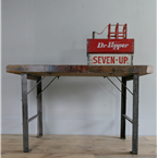 industrial artist table